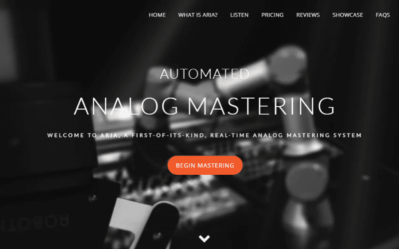 aria analog mastering