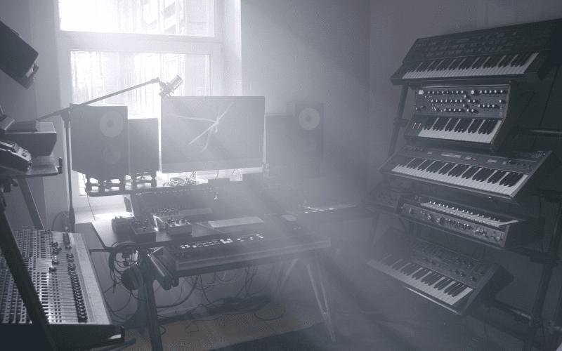 recording studio synthesizers