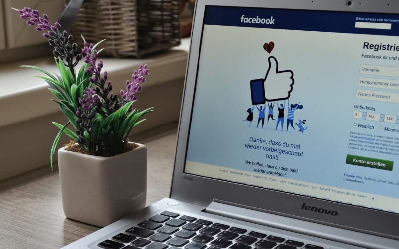 facebook home screen