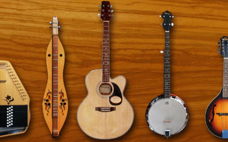 Folk string instruments