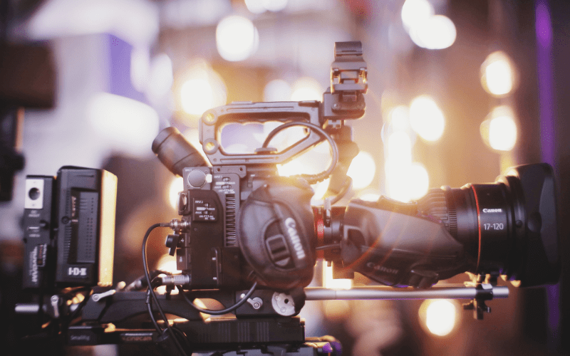 film camera film production accounting
