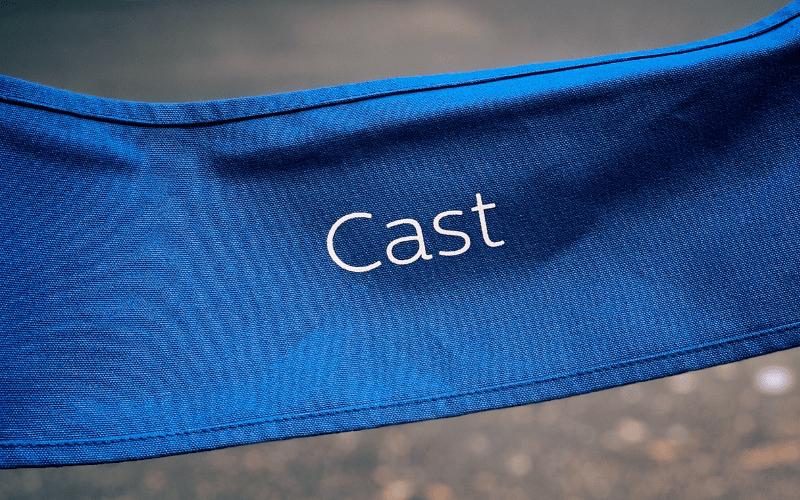 cast member chair