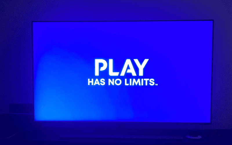 play has no limits on TV screen