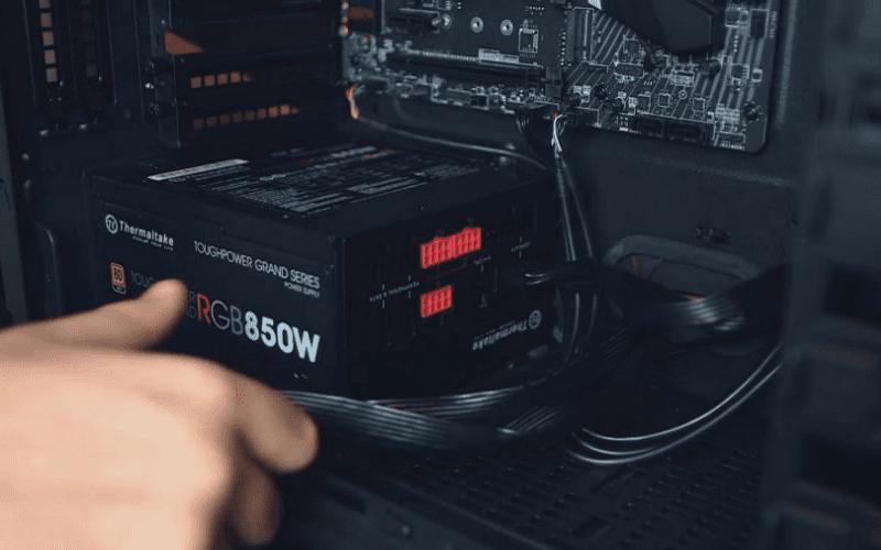 install power supply