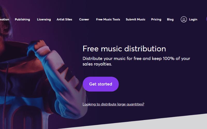 music gateway free distribution service