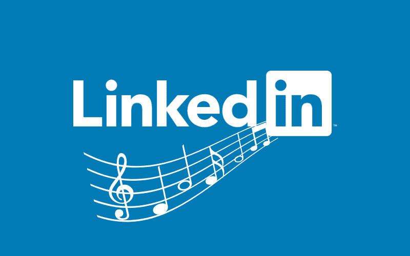 linkedin music