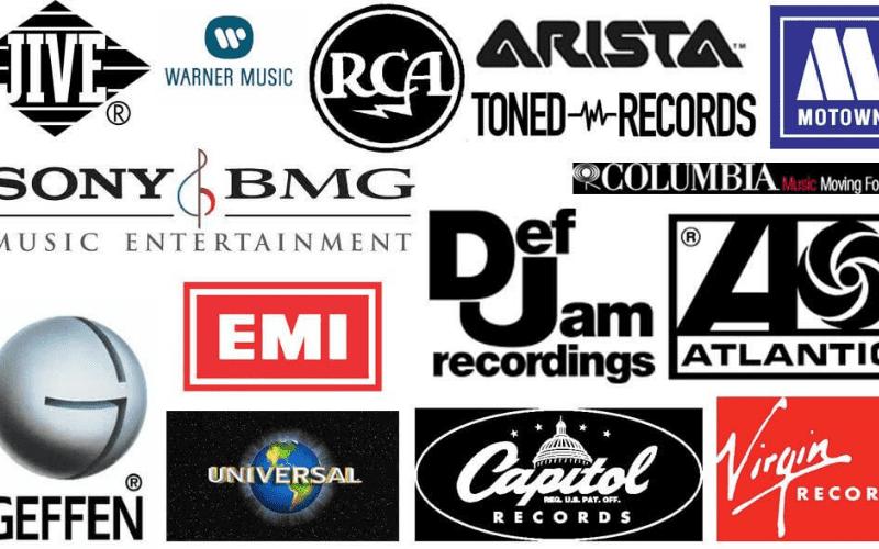 music companies
