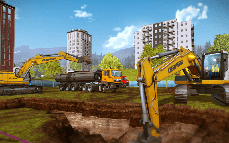 construction and management game