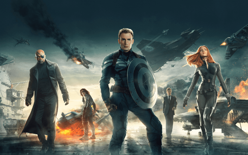 Captain America: Winter Soldier best marvel movies ranked