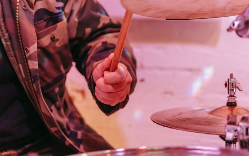 drummer playing drums