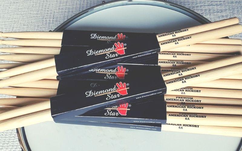 Diamond Star Drum Sticks